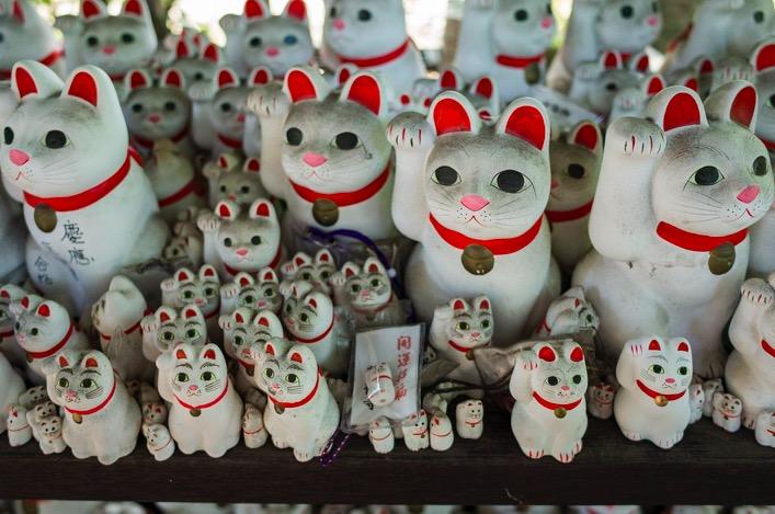 Tokyo Gotokuji Cat Shrine 2015-9