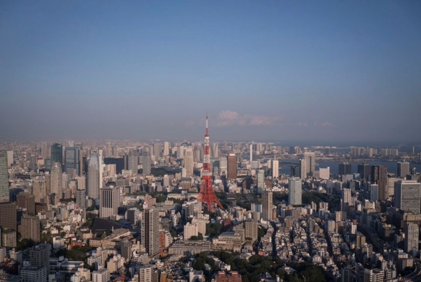 Tokyo Mori Tower City View Sep 2015-1