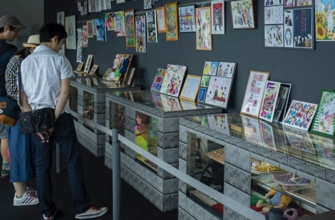Tokyo Mori Tower Momorio clover z exhibition 2015-3
