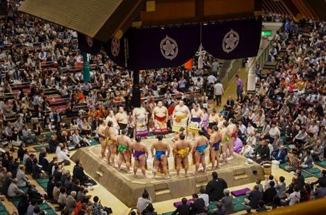 Tokyo Ryogoku Kokugikan Sumo Tournament May 2016-10