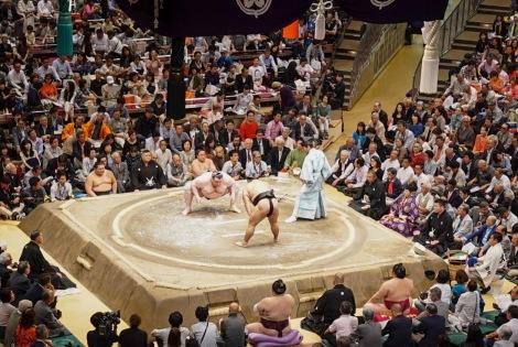 Tokyo Ryogoku Kokugikan Sumo Tournament May 2016-11