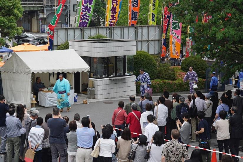 Tokyo Ryogoku Kokugikan Sumo Tournament May 2016-3
