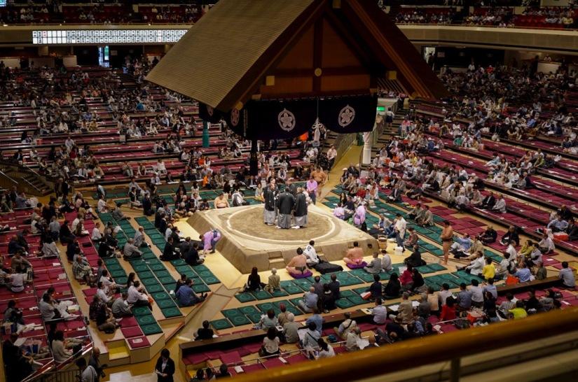 Tokyo Ryogoku Kokugikan Sumo Tournament May 2016-8