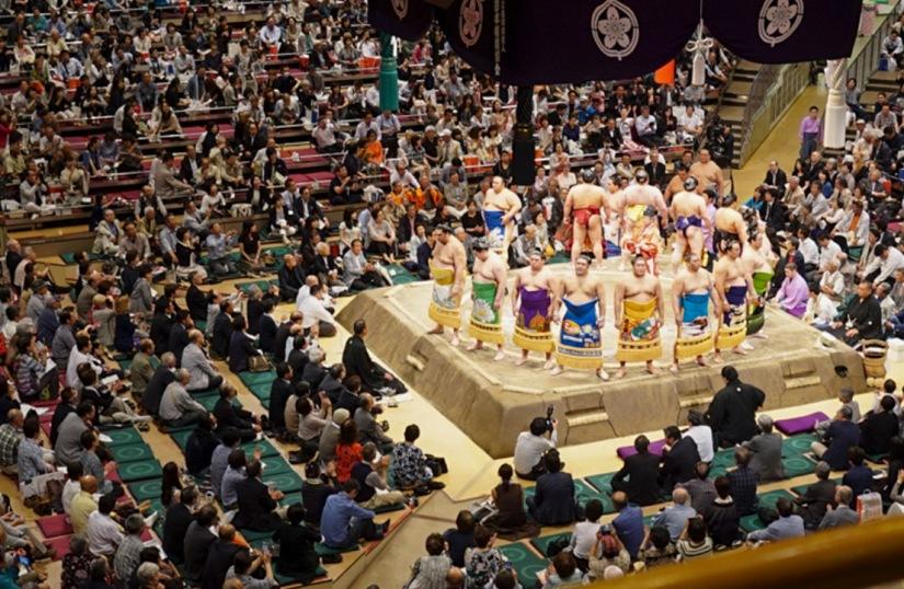 Tokyo Ryogoku Kokugikan Sumo Tournament May 2016-9