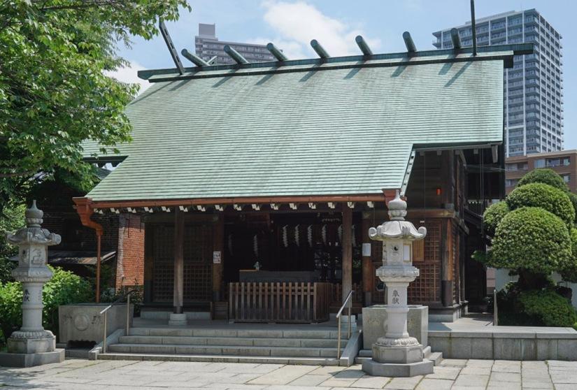 Tokyo Tsukishima 8 May 2016 Sumiyoshi Shrine