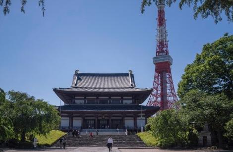 Tokyo Zojoji Temple May 2016-1