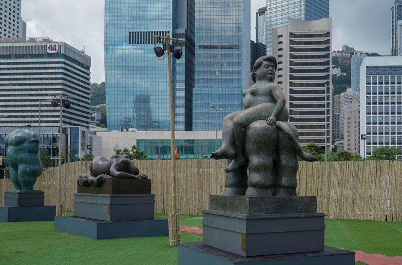 Botero exhibition in Hong Kong July 2016-2