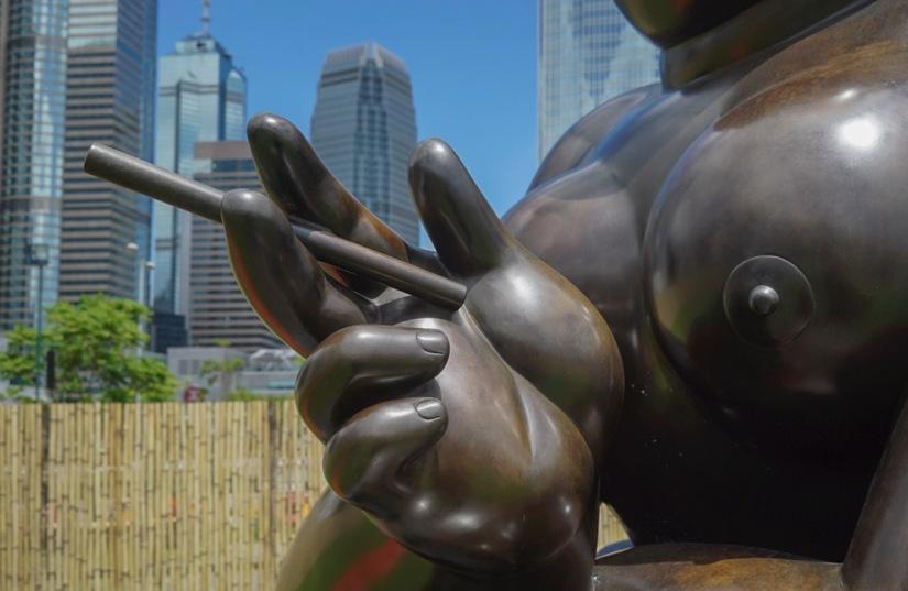 Botero exhibition in Hong Kong July 2016-7