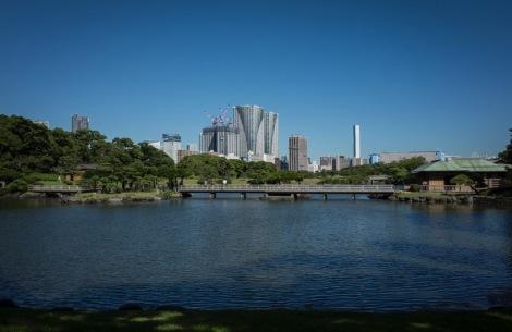 Tokyo Hama Rikyu Garden 2015-1