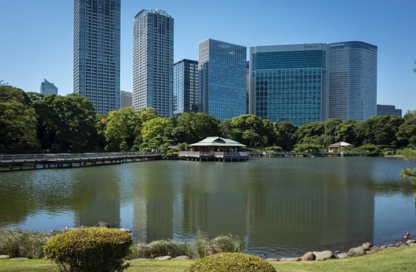 Tokyo Hama Rikyu Garden 2015-3