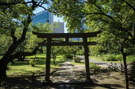Tokyo Hama Rikyu Garden 2015-6